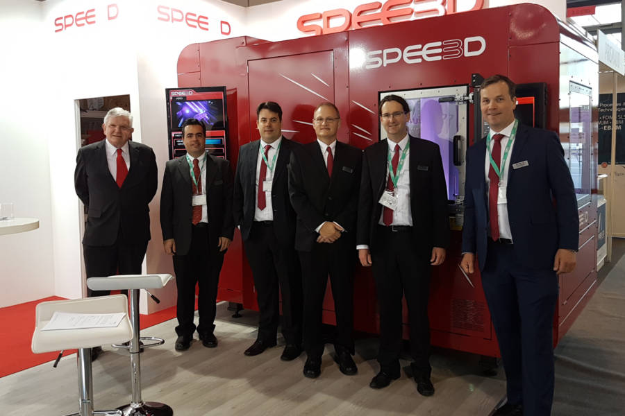 SPEE3D's global launch at formnext in Frankfurt