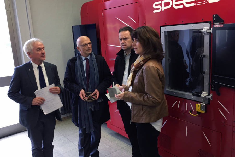 The first LightSPEE3D Printer arrived in Europe