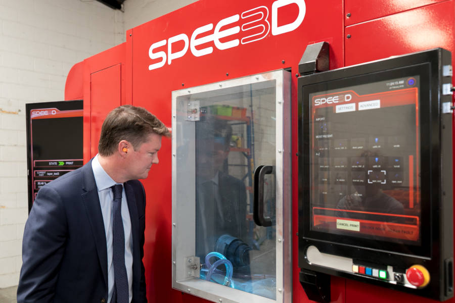 SPEE3D are at the forefront of innovation – The Hon Ben Carroll MP
