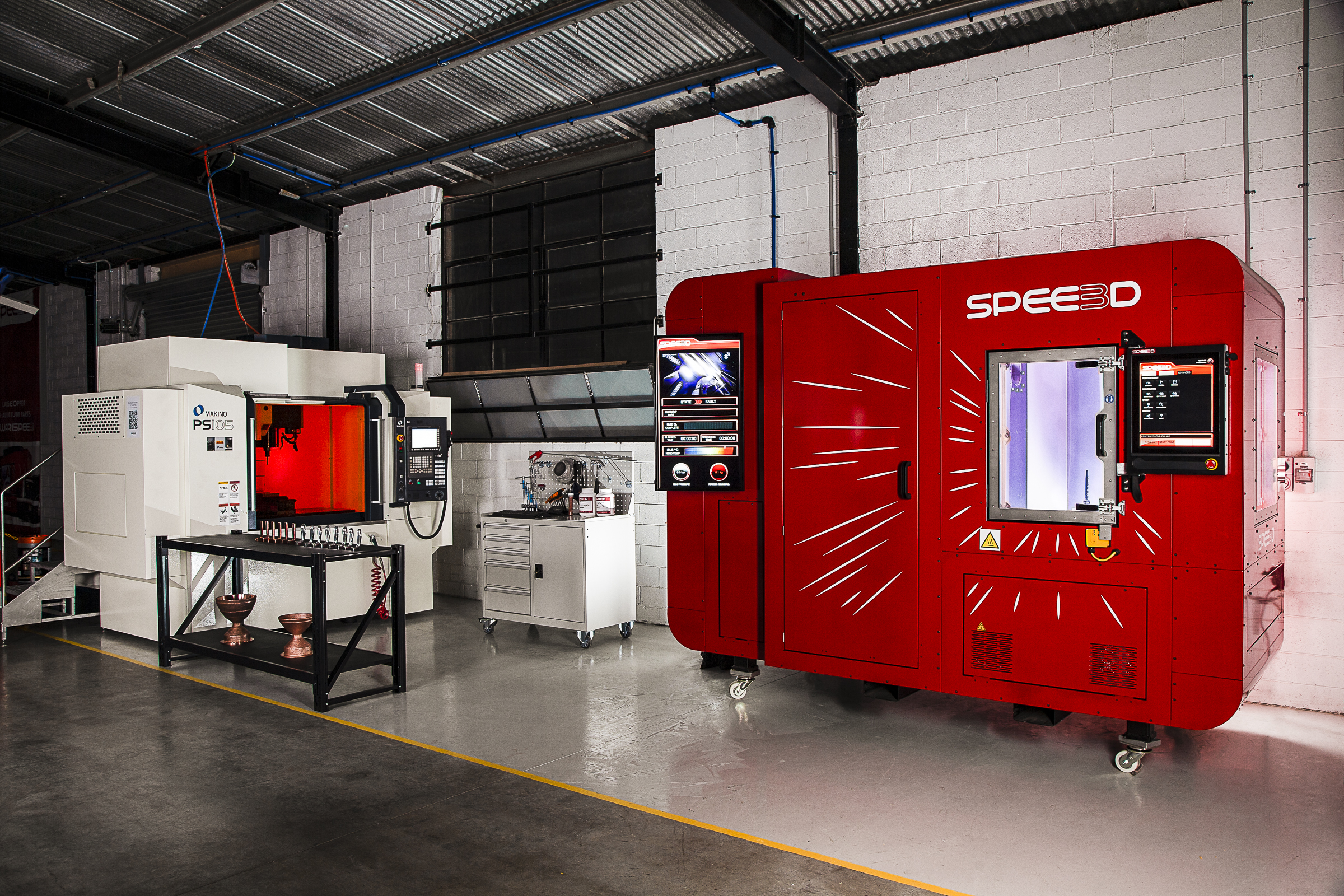 SPEE3D – Fast Affordable Metal Parts