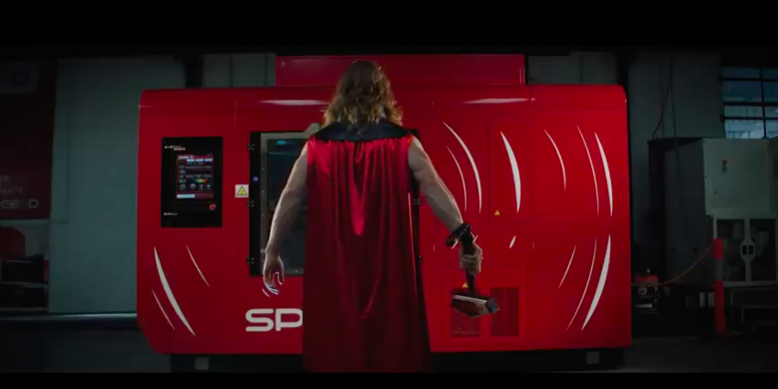SPEE3D Thor Video