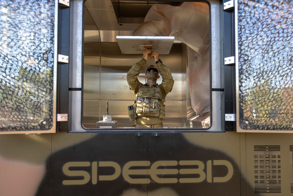 Tactical 3D metal printing in the Top End